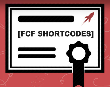 FCF Shortcodes Course
